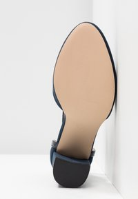 Dorothy Perkins Wide Fit - WIDE FIT DERBY - High heels - navy - 6