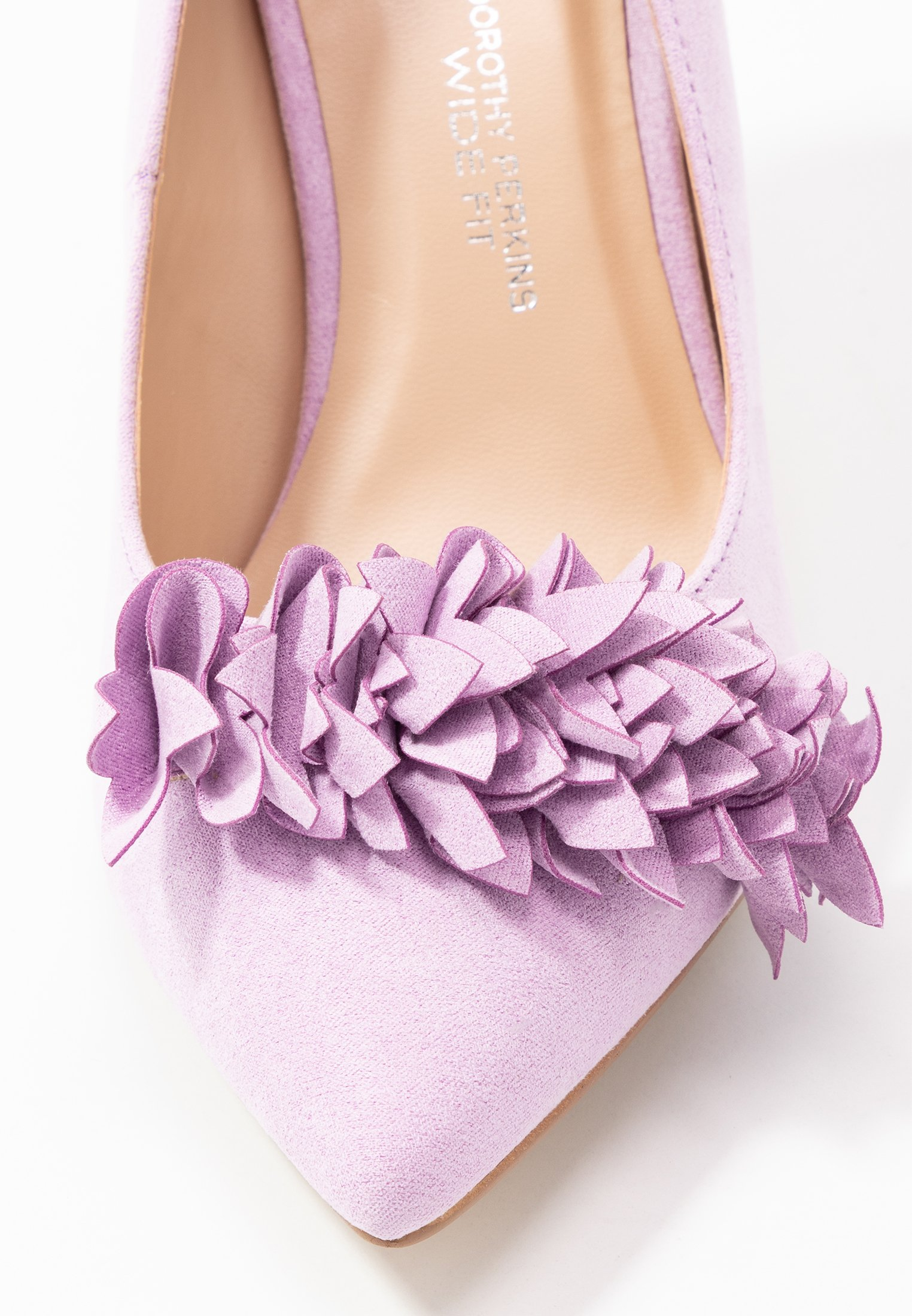 Dorothy Perkins Wide Fit WIDE FIT DAYLILY CORSAGE TRIM COURT - Decolleté lilac
