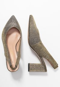 Dorothy Perkins Wide Fit - WIDE FIT EVERLEY COURT - Escarpins - pewter - 3