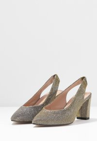 Dorothy Perkins Wide Fit - WIDE FIT EVERLEY COURT - Escarpins - pewter - 4