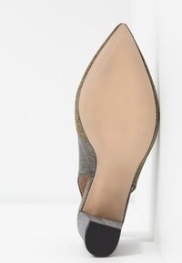 Dorothy Perkins Wide Fit - WIDE FIT EVERLEY COURT - Escarpins - pewter - 6
