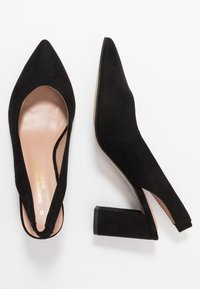 Dorothy Perkins Wide Fit - WIDE FIT EVERLEY COURT - Escarpins - black - 3