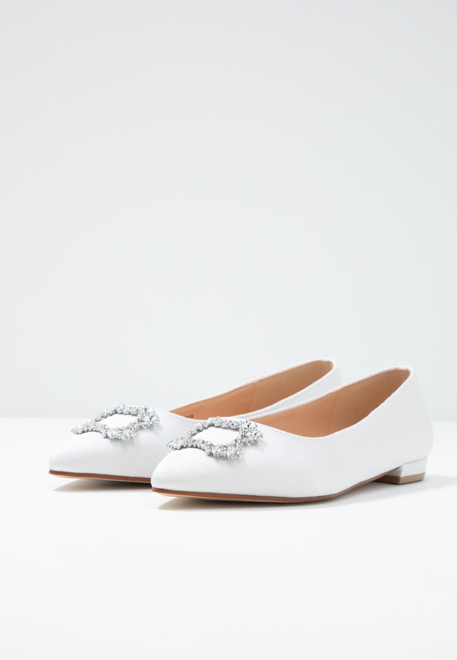 Dorothy Perkins Fit White PeytonBallerines Wide T1KlcJF