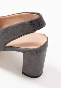 Dorothy Perkins Wide Fit - WIDE FIT EVERLEY  - Tacones - grey - 2