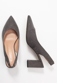 Dorothy Perkins Wide Fit - WIDE FIT EVERLEY  - Tacones - grey - 3