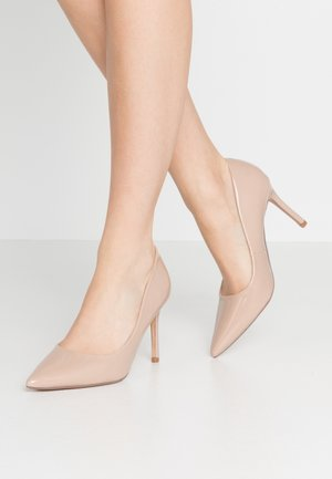 WIDE FIT DELE COURT - High heels - nude