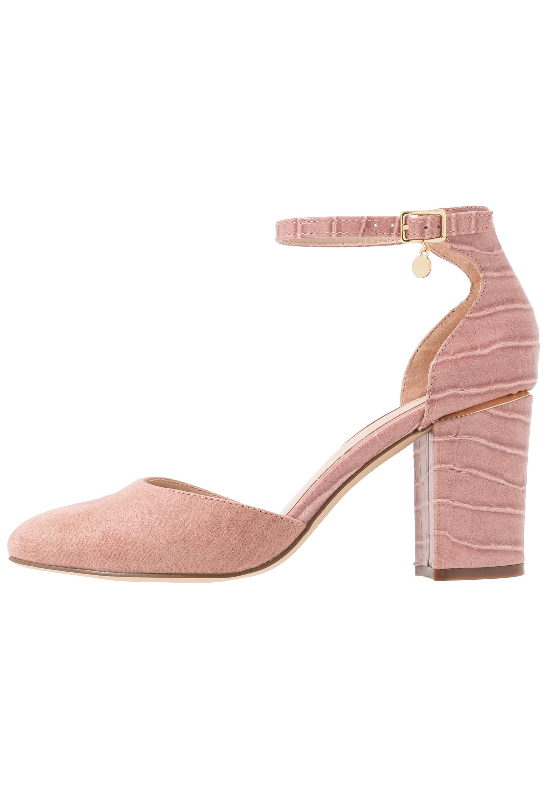 Dorothy Perkins Wide Fit WIDE FIT DEBS ROUND TOW TWO PART COURT - Szpilki - blush