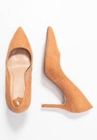 Dorothy Perkins Wide Fit - WIDE FIT DELE POINT COURT - Szpilki - taupe - 3
