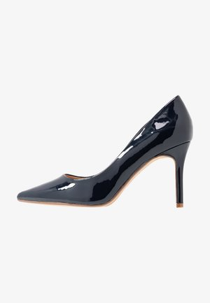 WIDE FIT DELE POINT COURT - High heels - navy