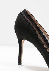 Dorothy Perkins Wide Fit - WIDE FIT ELIZA SCALLOP DETAIL COURT - High heels - black - 2