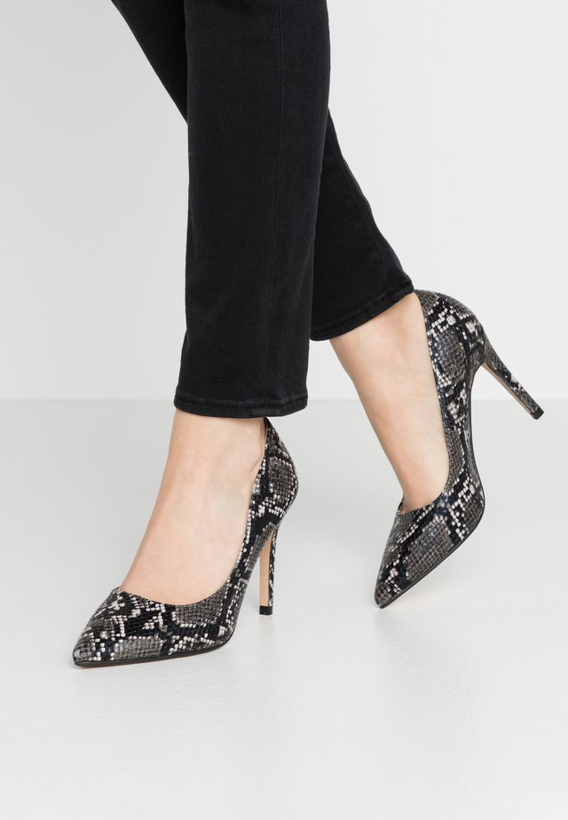 WIDE FIT DANIELLE  - High Heel Pumps - dark