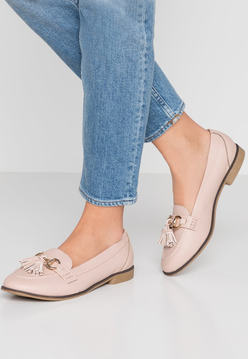 Dorothy Perkins Wide Fit - WIDE FIT - Instappers - nude
