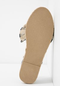 Dorothy Perkins Wide Fit - WIDE FIT CAROLINA BOW TACKED - Espadrilles - navy - 6