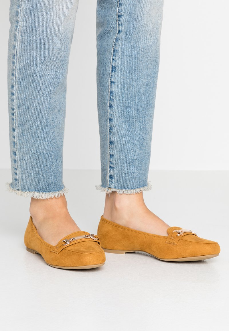 Dorothy Perkins Wide Fit - WIDE FIT LAIR - Slipper - yellow