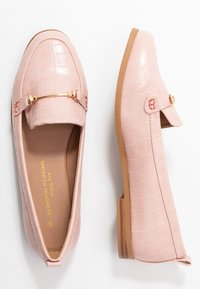 Dorothy Perkins Wide Fit - WIDE FIT LUNA SNAFFLE LOAFER - Instappers - blush - 3