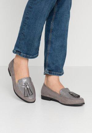 WIDE FIT LILLE LOAFER - Nazouvací boty - grey