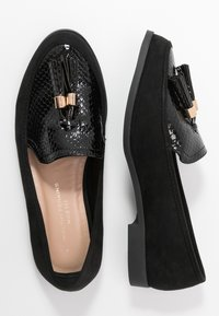 Dorothy Perkins Wide Fit - WIDE FIT LILLE LOAFER - Scarpe senza lacci - black - 3