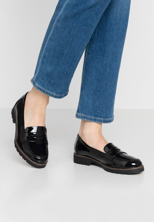WIDE FIT LYLE EVA SOLE LOAFER - Slip-ons - black