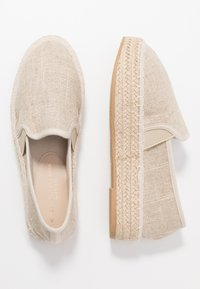 Dorothy Perkins Wide Fit - COMICO SLIP ON - Espadrilles - gold - 3