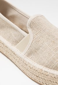 Dorothy Perkins Wide Fit - COMICO SLIP ON - Espadrilles - gold - 2