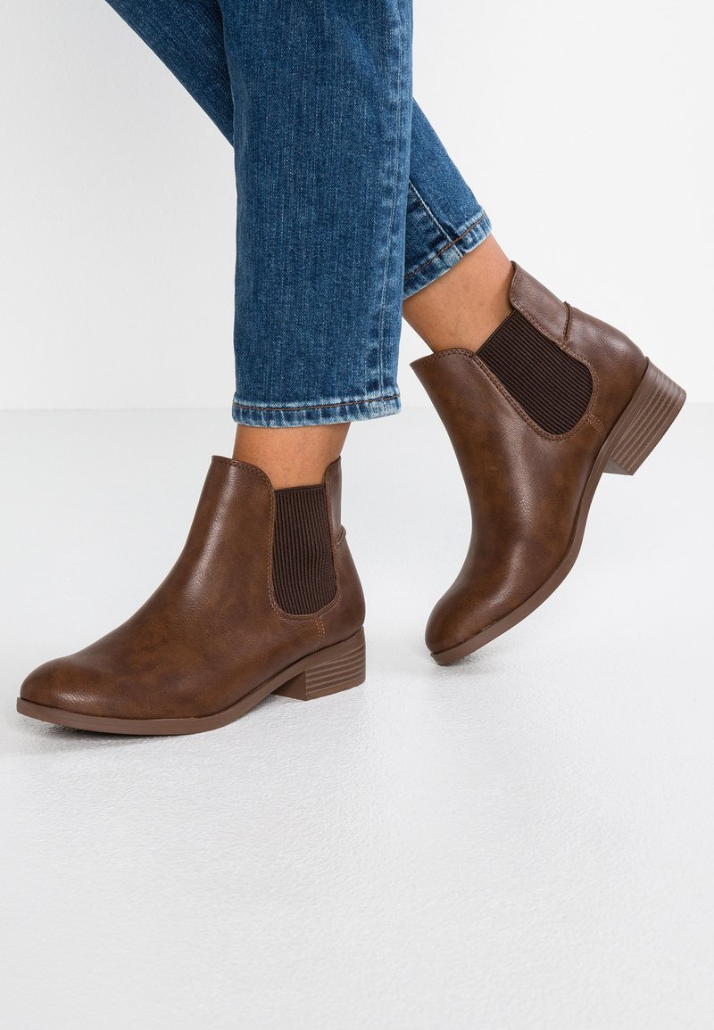 Dorothy Perkins Wide Fit - WIDE FIT MONTY - Ankle Boot - tan