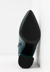 Dorothy Perkins Wide Fit - WIDE FIT ABSOLUTE - High heeled ankle boots - teal - 6