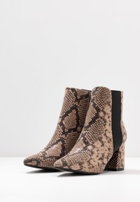 Dorothy Perkins Wide Fit - WIDE FIT AMICA CHELSEA - Tronchetti - brown - 4