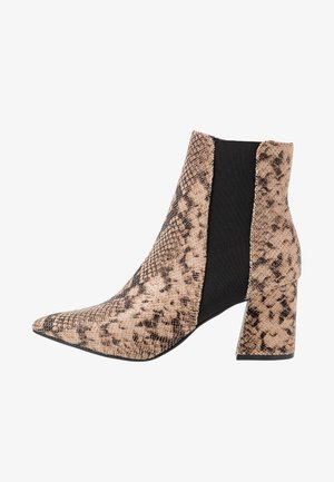 WIDE FIT AMICA CHELSEA - Ankelboots - brown
