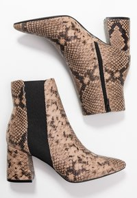 Dorothy Perkins Wide Fit - WIDE FIT AMICA CHELSEA - Tronchetti - brown - 3