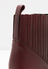 Dorothy Perkins Wide Fit - WIDE FIT OSLO CHELSEA - Boots à talons - burgundy - 2