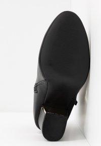 Dorothy Perkins Wide Fit - WIDE FIT ASTRID HEEL ZIP - Boots à talons - black - 6