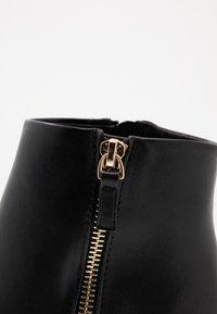 Dorothy Perkins Wide Fit - WIDE FIT ASTRID HEEL ZIP - Boots à talons - black - 2