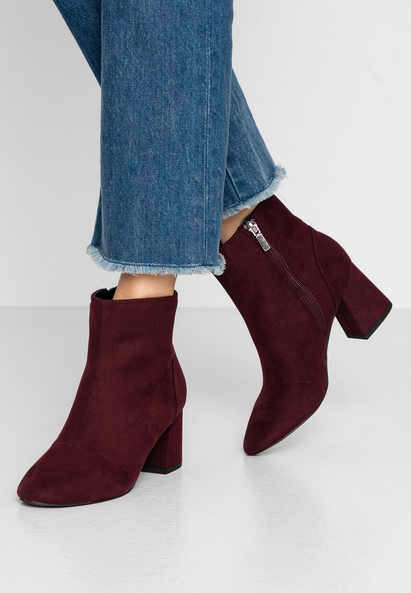 Dorothy Perkins Wide Fit - WIDE FIT ADDIE CYLINDER - Ankelboots - oxblood