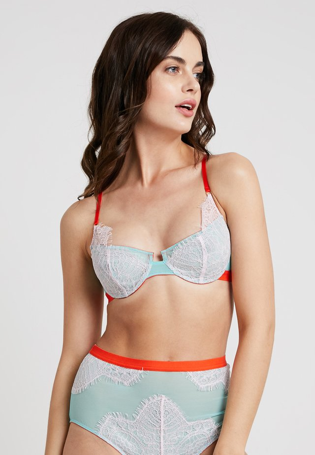 UNDERWIRE - Beugel BH - light blue/rose/neon pink