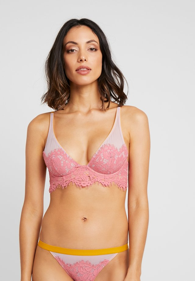 SADIE HIGH APEX UNDERWIRE - Beugel BH - flamingo pink
