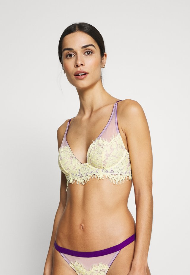 EVIE NON-PAD UNDERWIRED BRA - Beugel BH - lemon