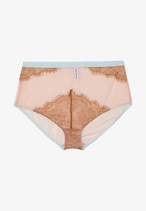 CELI HIGH WAIST KNICKER - Pants - light pink/lhaki