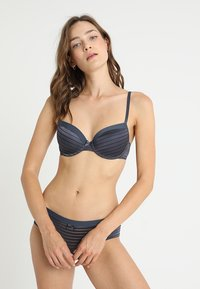 DORINA - LOUISE BRA 2 PACK - Beugel BH - blue charcoal/blush - 0