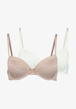 LOUISE BRA 2 PACK - Beugel BH - blush/ivory