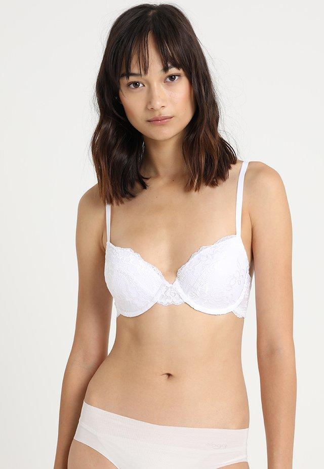 LIANNE BRA - Bygel-bh - white