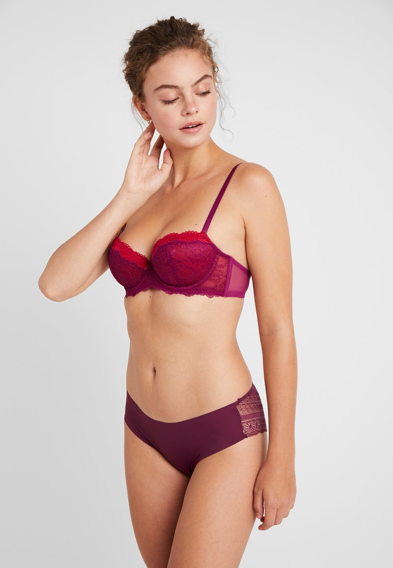 DORINA - LAYLA BRA 2 PACK - Soutien-gorge à armatures - purple/red