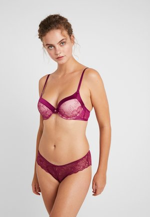 ALISSA BRA 2 PACK - Underwired bra - purple/grey