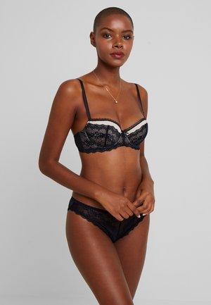 BELLA BRA 2 PACK - Underwired bra - black/beige