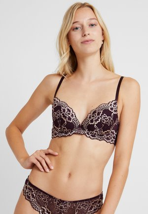 LIANNEPUSH UPS - Soutien-gorge push-up - dark red