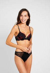 DORINA - ANDERSON FLORAL - Push-up BH - red - 1