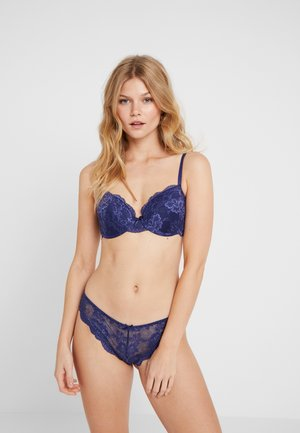 LIANNE BRA 2 PACK - Underwired bra - dark blue/dark red