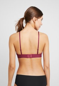DORINA - WIRE FREE 2 PACK - Triangle bra - pink/black - 2