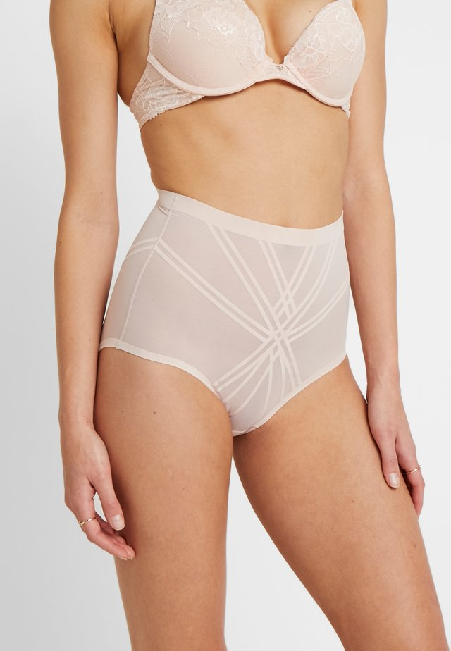 INVISIBLE SHAPING BRIEF - Bokserit - nude