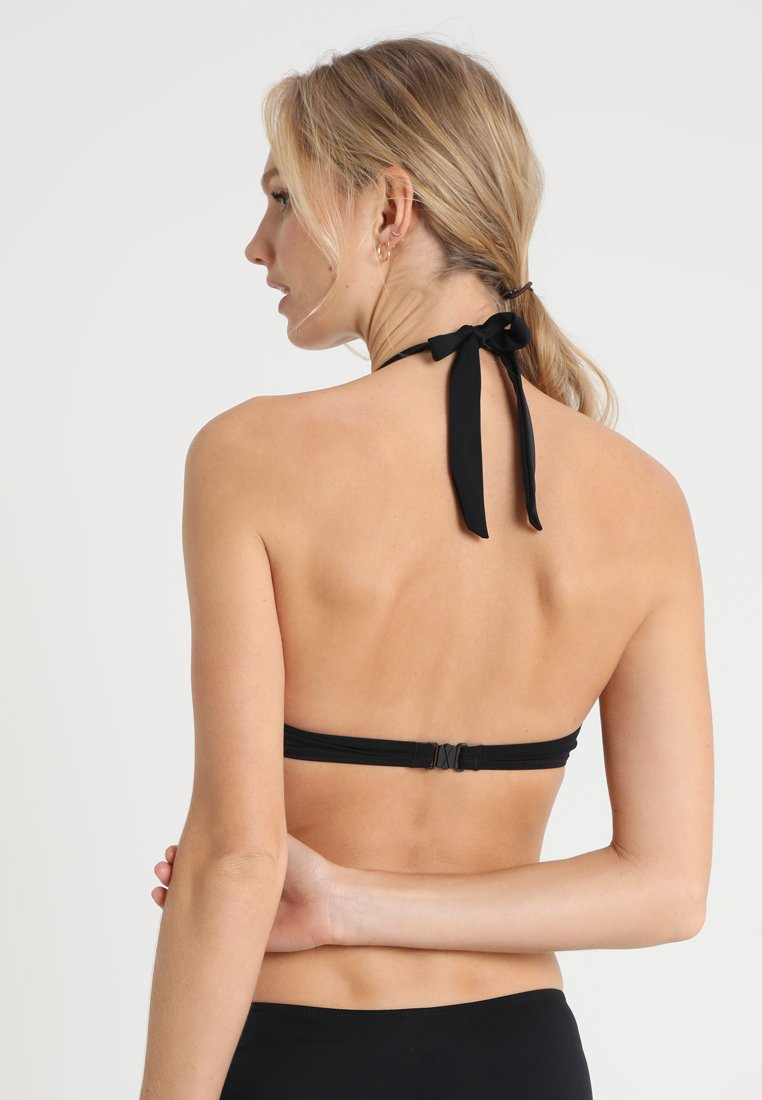 Fiji Dorina Bikini Black Halter NeckHaut De 45j3ALRq