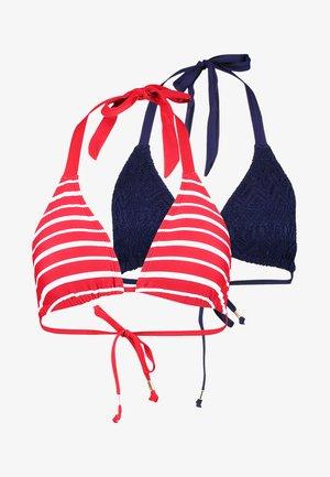 VALENCIA 2 PACK - Bikinitop - red/blue